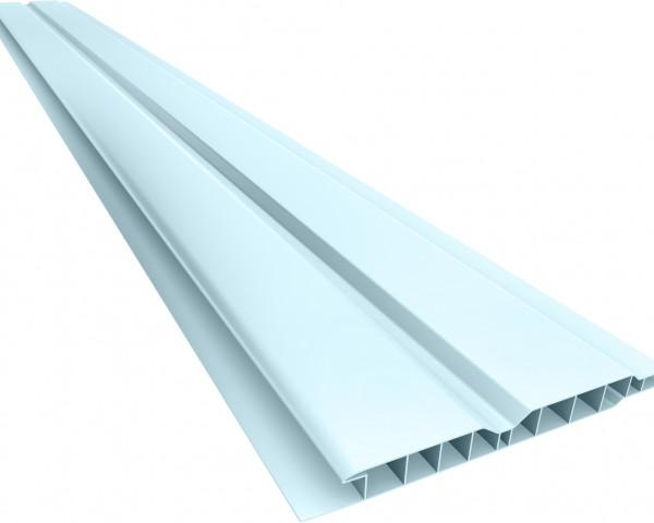 Forro PVC 100 Canelado 10mm Azul