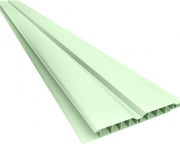 Forro PVC 100 Canelado 10mm Verde