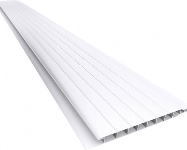 Forro PVC 100 Frisado 7mm Branco