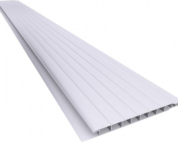 Forro PVC 100 Frisado 7mm Cinza