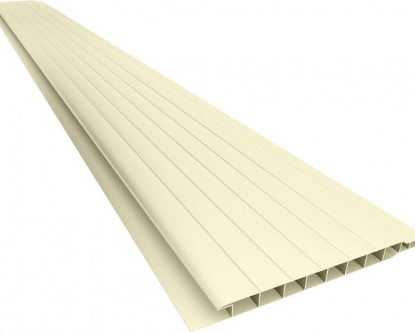 Forro PVC 100 Frisado 7mm Creme