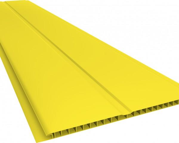 Forro PVC 200 Gêmini Liso 7mm Amarelo