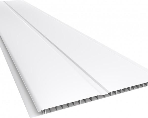 Forro PVC 200 Gêmini Liso 7mm Branco