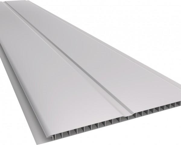 Forro PVC 200 Gêmini Liso 7mm Cinza