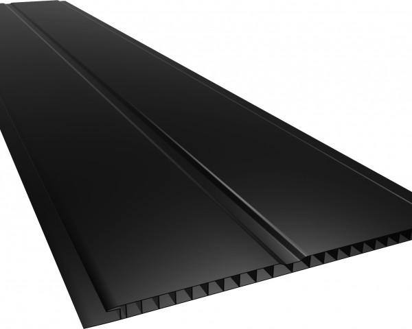 Forro PVC 200 Gêmini Liso 7mm Preto
