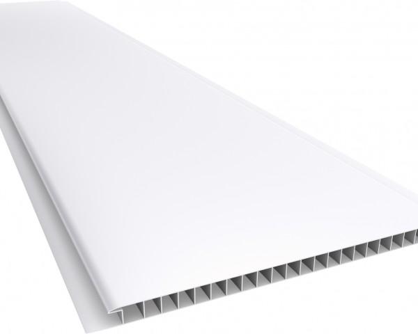 Forro PVC 200 Liso 10mm - Texturizado Branco