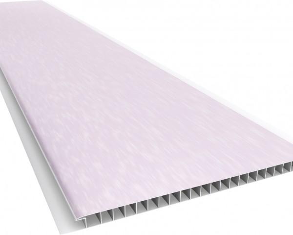 Forro PVC 200 Liso 10mm - Texturizado Carmin