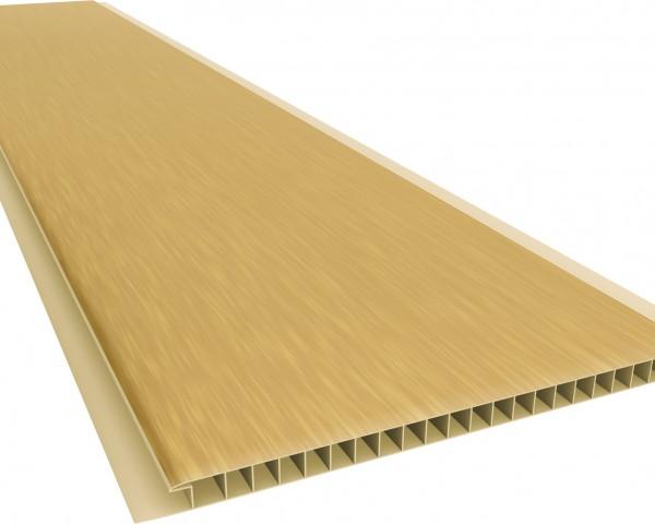 Forro PVC 200 Liso 10mm - Texturizado Nogueira