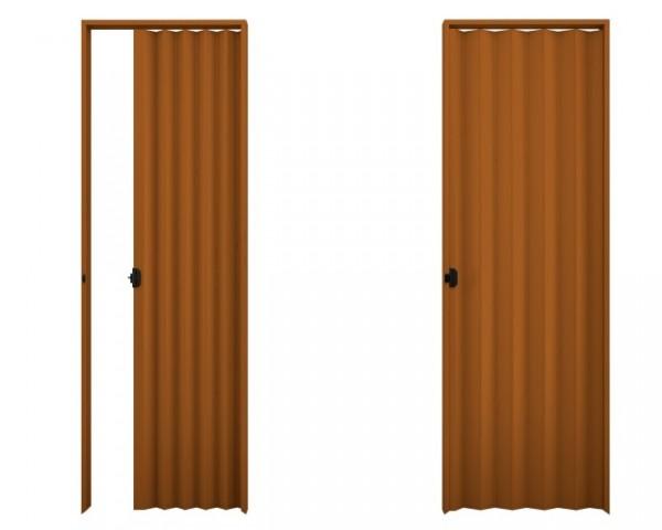 Porta Sanfonada PVC  5